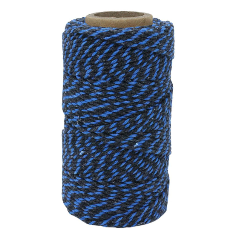 Black & Blue No.5 Cotton Craft Twine