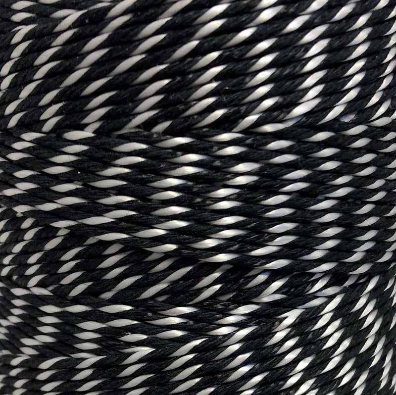 Black & White General Purpose Twine/String - 200m reel