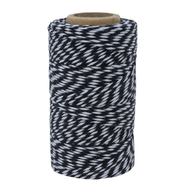 Black & White No.6 Cotton Bakers Twine