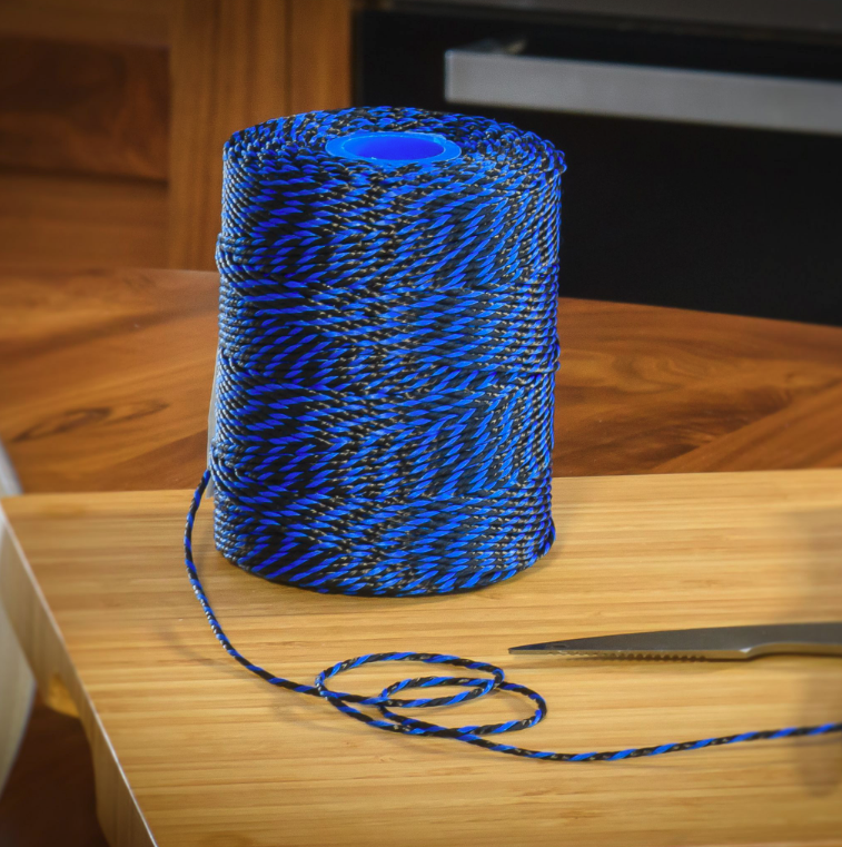 Blue & Black Hand Tying Butchers String/Twine