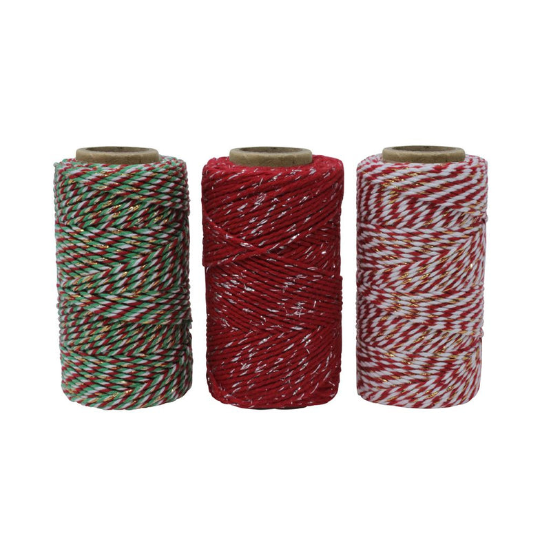 Christmas Craft Twine/String Box