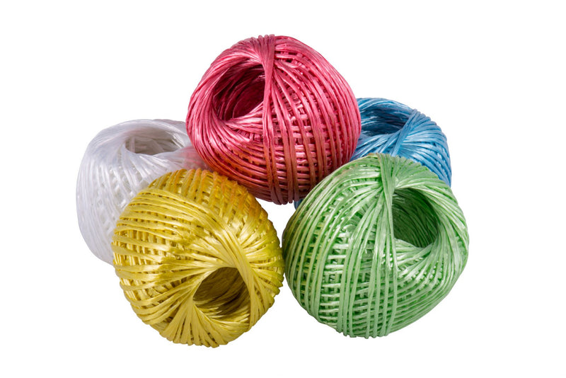 Polypropylene 40g Coloured Twine Balls