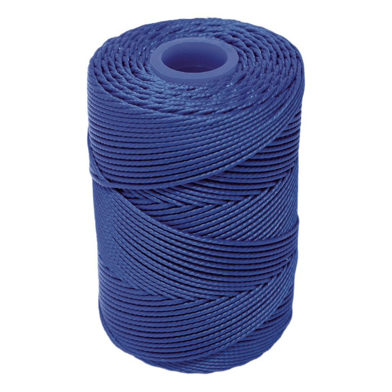Electric Blue Hand Tying Butchers Football Twine