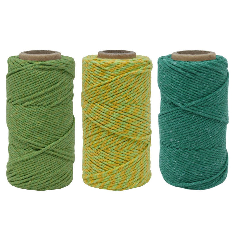 Green Grass Bakers Twine Box