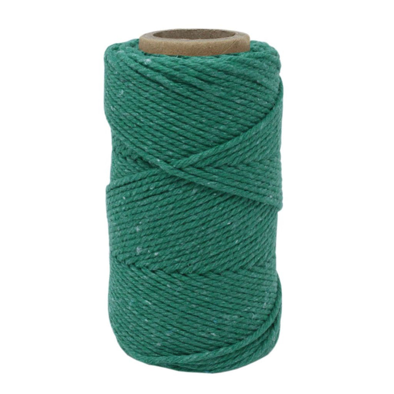 Green No.6 Cotton Craft Twine