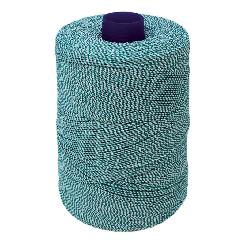Green/White Elasticated Machine String/Twine 1904m/kg