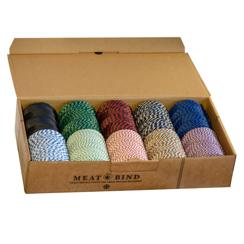 Henry Winning Butchers No.5 String/Twine Selection Box - 10 reels from 5.99 per reel