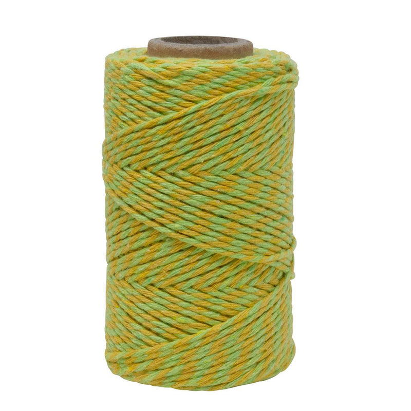 Lemon and Lime Green No.6 Cotton Bakers Twine