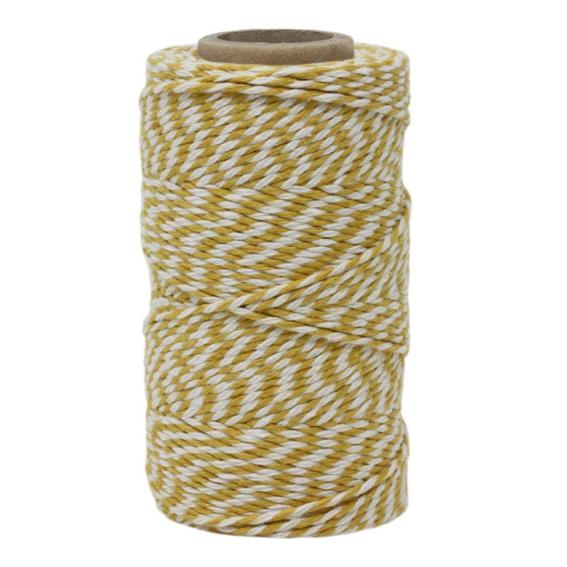 Lemon & White No.6 Cotton Craft Twine