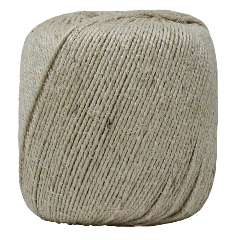 Natural 3 Ply Sisal Twine - Large Ball