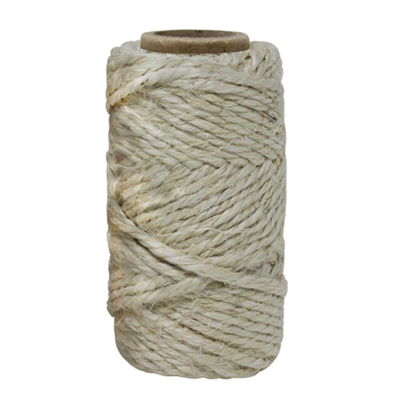 Natural 3 Ply Sisal Twine Reel