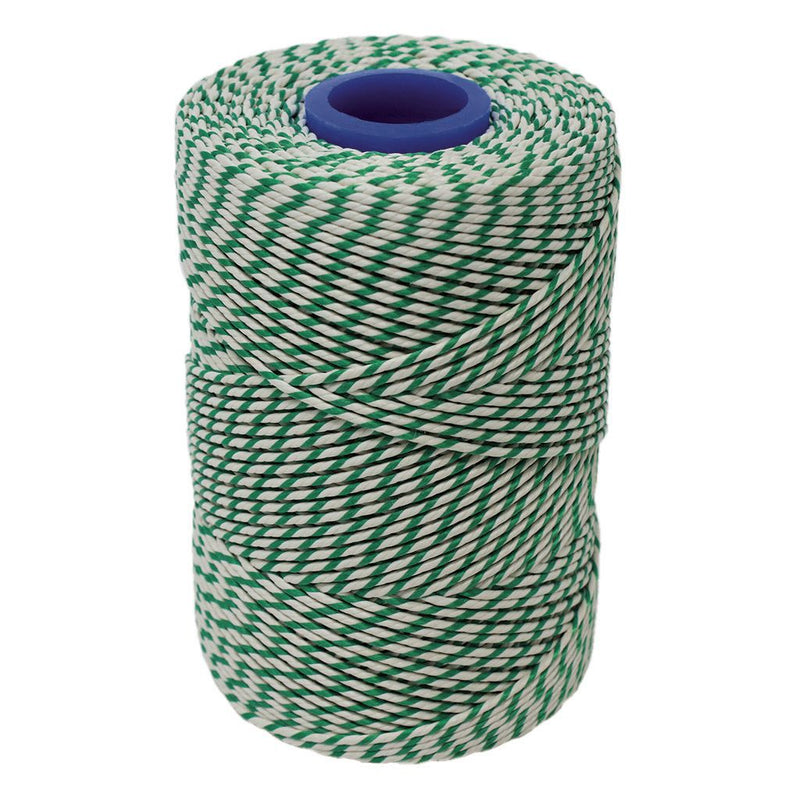 No.5 Green & White Butchers Football Twine