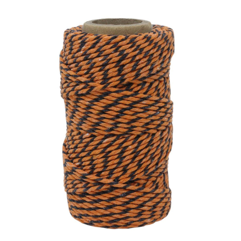 Orange & Black No.6 Cotton Craft Twine