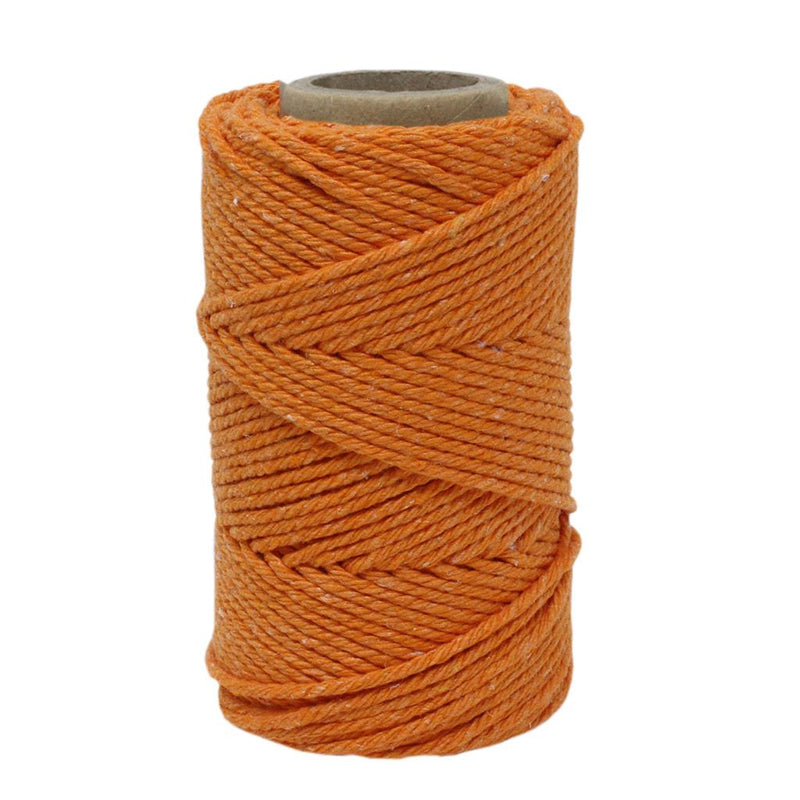 Orange No.6 Cotton Craft Twine