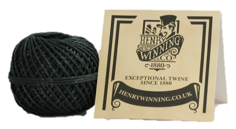Polyester Royale Black 20m Twine Ball
