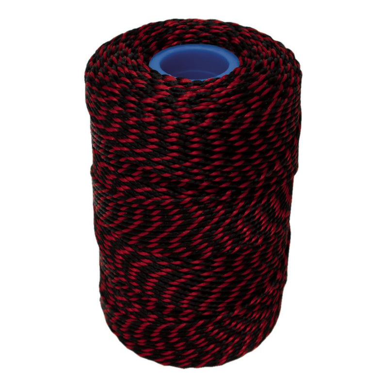 Red & Black Hand Tying Butchers String/Twine - 200m/425g