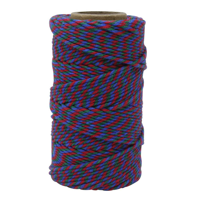 Red, Blue & Green No.6 Cotton Craft Twine