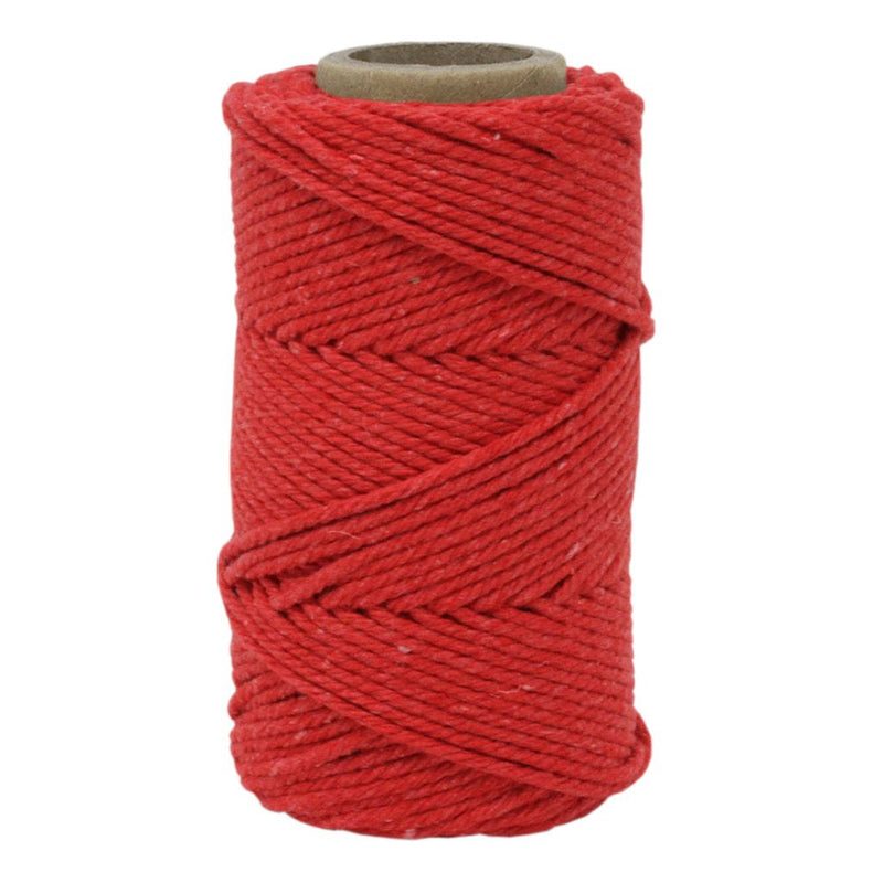 Red No.6 Cotton Football Twine
