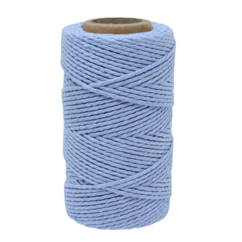 Sky Blue No.6 Cotton Bakers Twine
