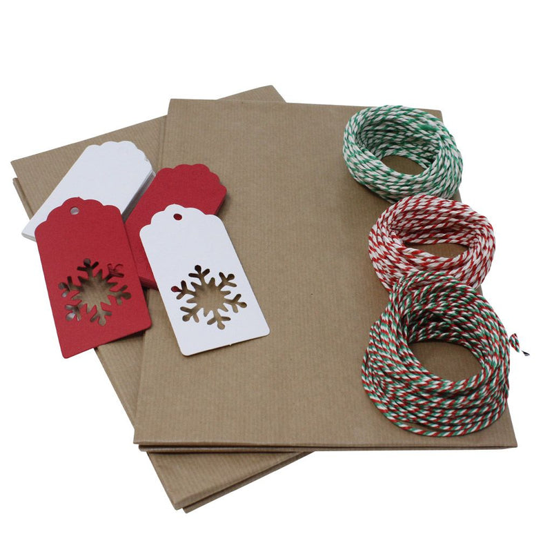 Snowflake Christmas Wrapping Set