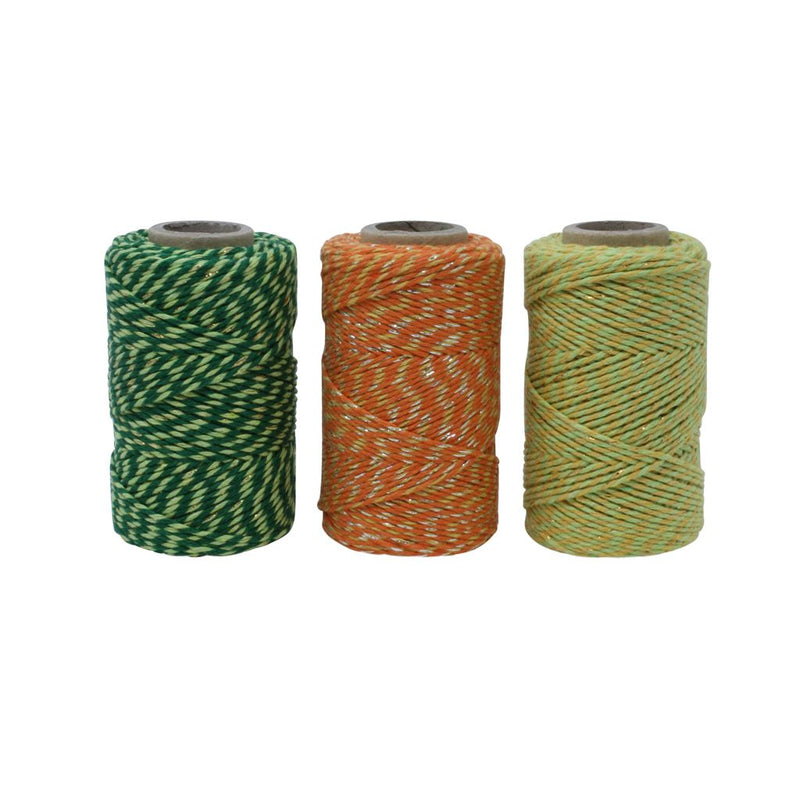 Tropical Sparkle Bakers Twine Box