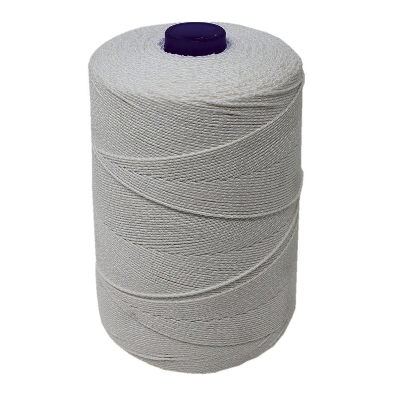 White Elasticated Machine String/Twine 1800m/Kg