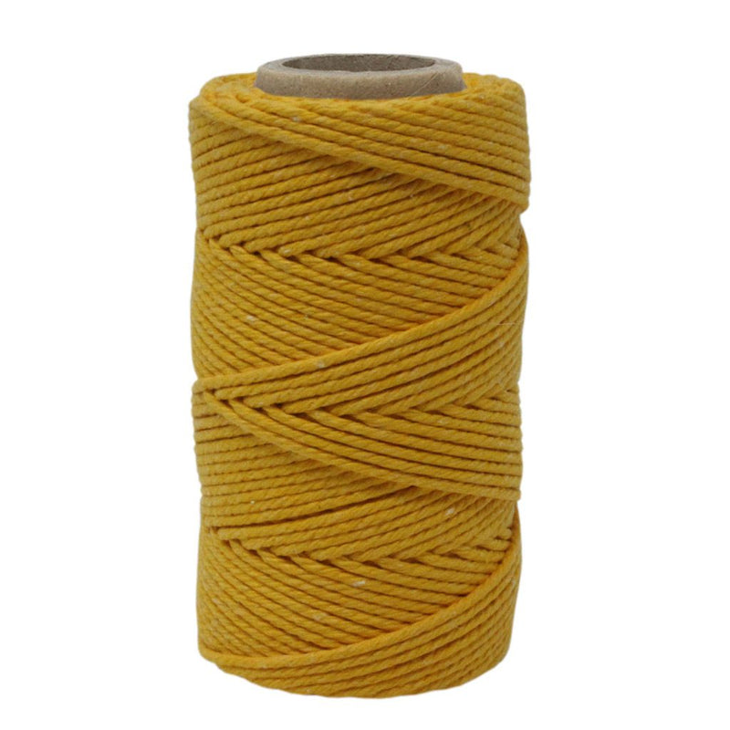 Yellow No.6 Cotton Craft Twine