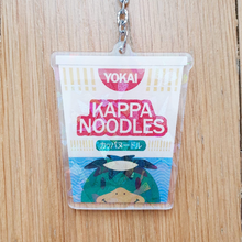 Load image into Gallery viewer, Kappa Noodles Yokai Snack Acrylic Charm