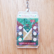 Load image into Gallery viewer, Tengu Tea Yokai Snack Acrylic Charm