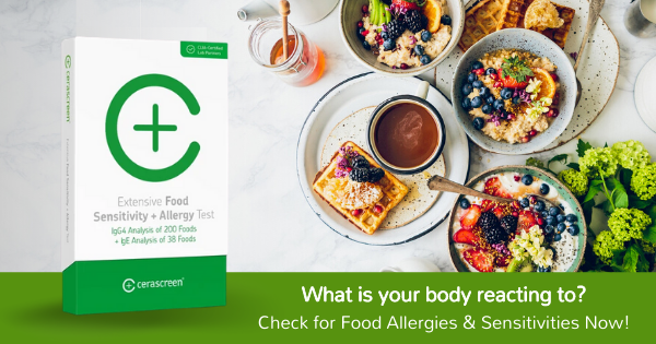 Food Allergy and Sensitivity Testing from cerascreen