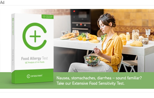 banner to Food Intolerances and Food Allergies Test
