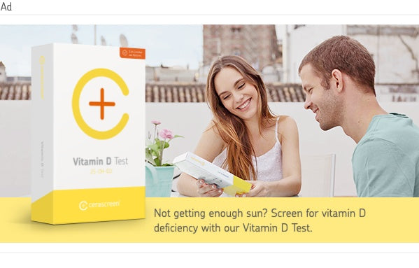 banner to vitamin D deficiency test