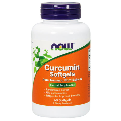 Now Foods Curcumin - 60 Softgels