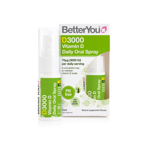 BetterYou D3000 Vitamin D Daily Oral Spray - 15 ml