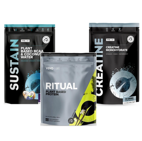 Vivo Life Workout Bundle: Protein+BCAA+Creatine