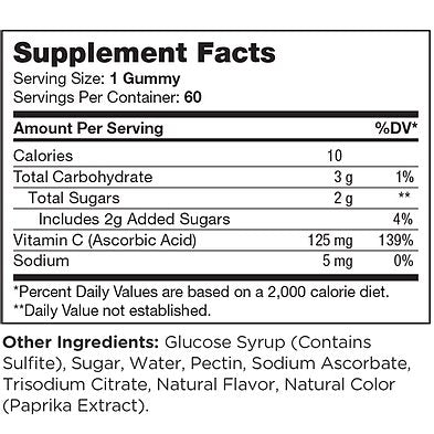 Chapter One Vitamin C - 60 Gummies
