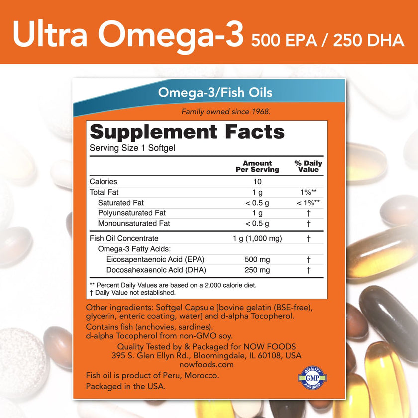 NowFoods Ultra Omega-3 - 90 Softgels