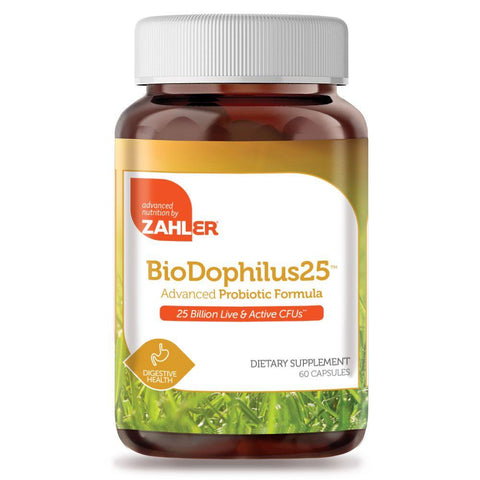 Zahler BioDophilus 25 Billion - 60 Capsules