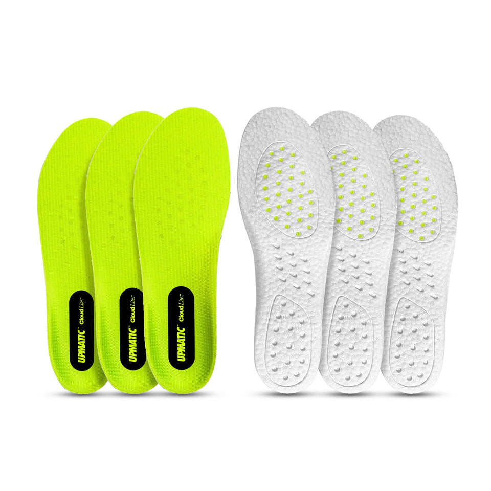 UPMATIC Cloudlite Supercharged Insoles 3 Pack