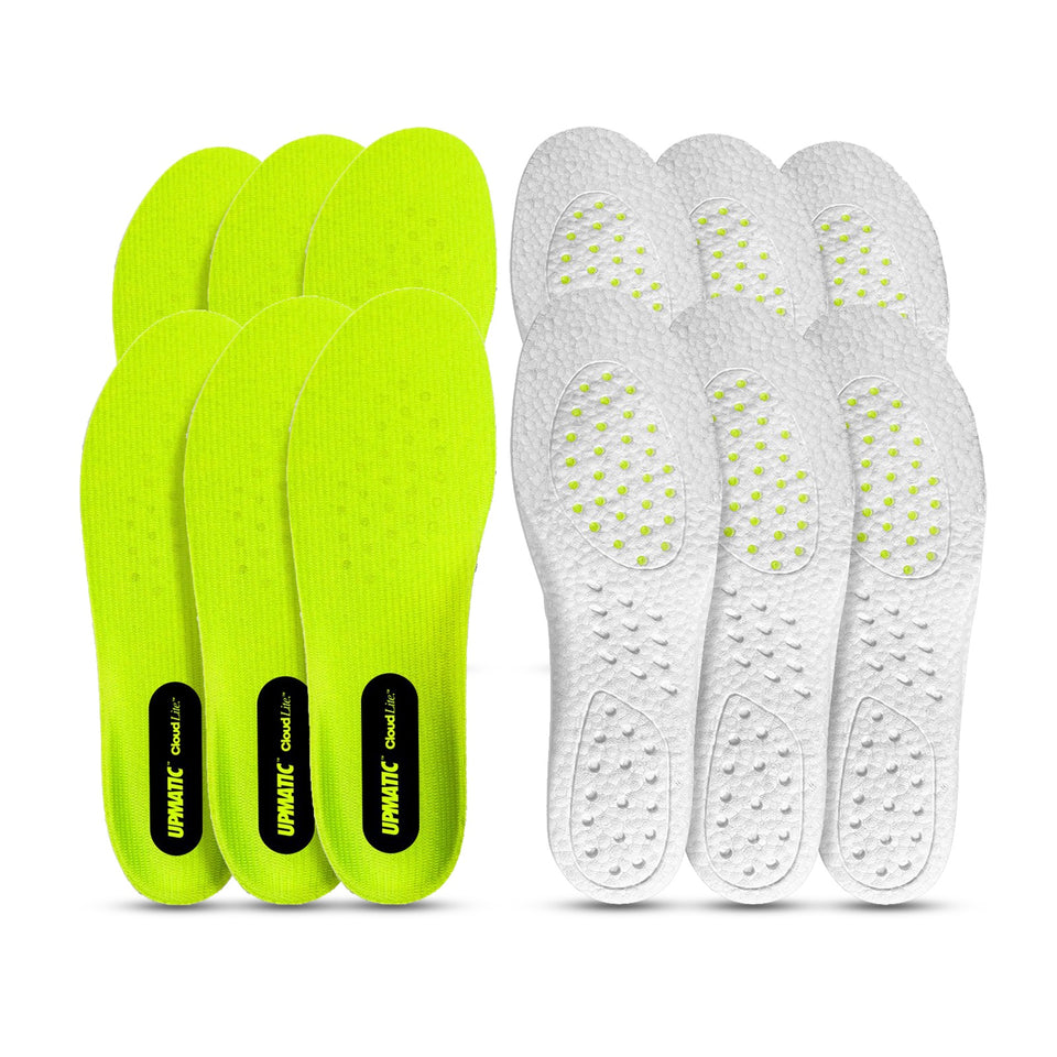 UPMATIC Cloudlite Supercharged Insoles 6 Pack