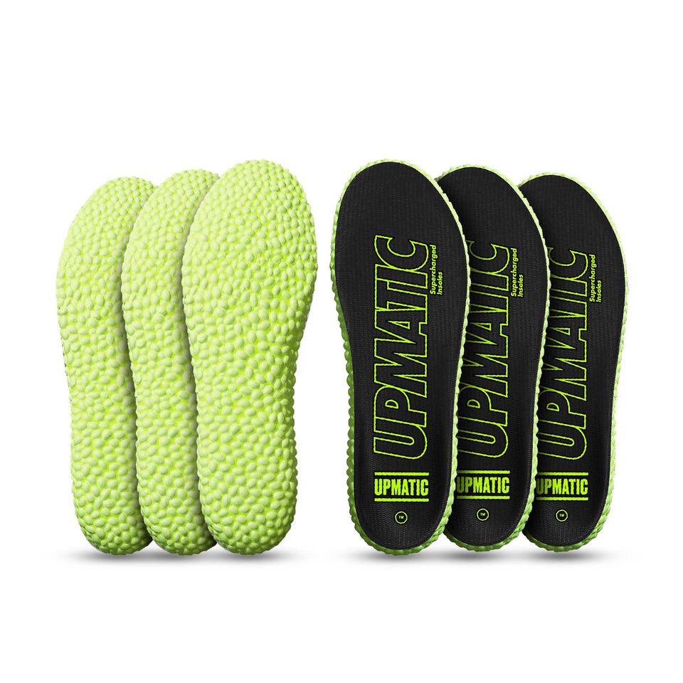 UPMATIC Original Slim Supercharged Insoles 3 Pack