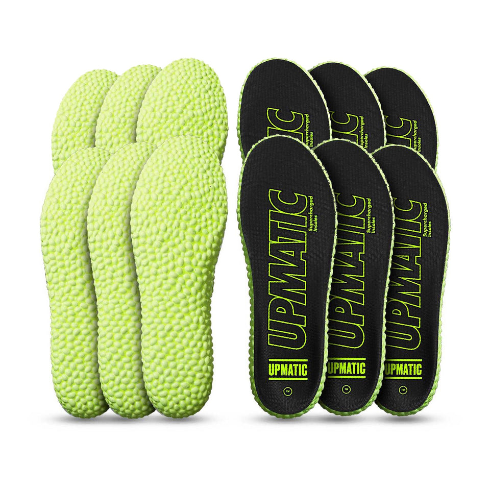 UPMATIC Original Slim Supercharged Insoles 6 Pack