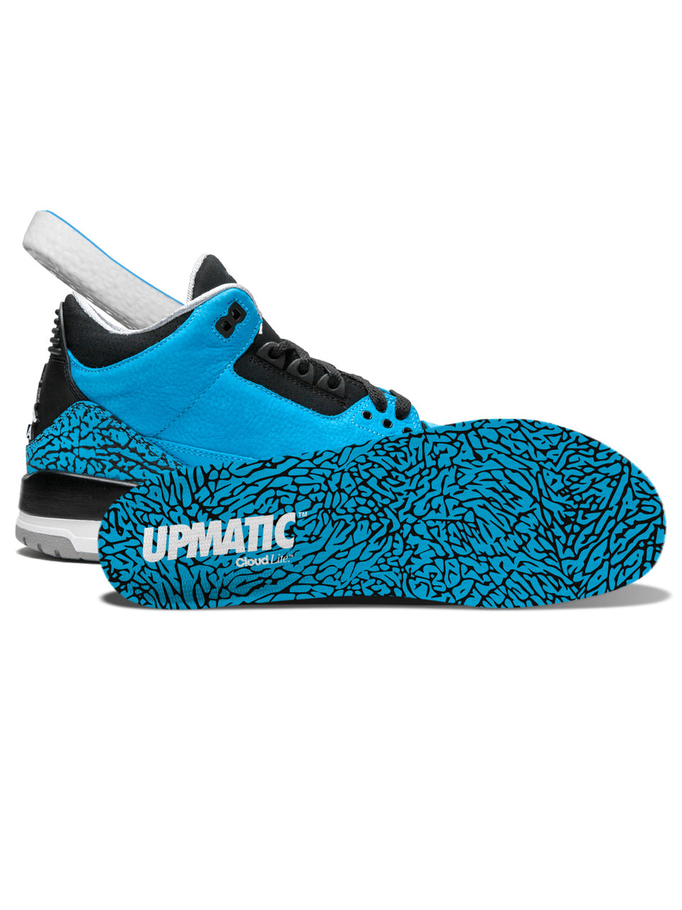 UPMATIC Cloudlite Supercharged Insoles 1988 Blue Elephant Limited Edition