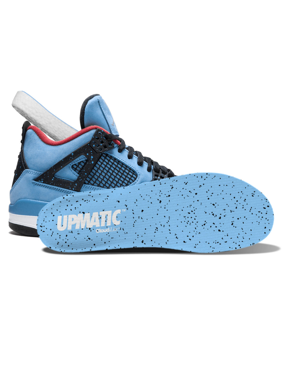 UPMATIC Cloudlite Supercharged Insoles 1989 Blue Splatter Limited Edition