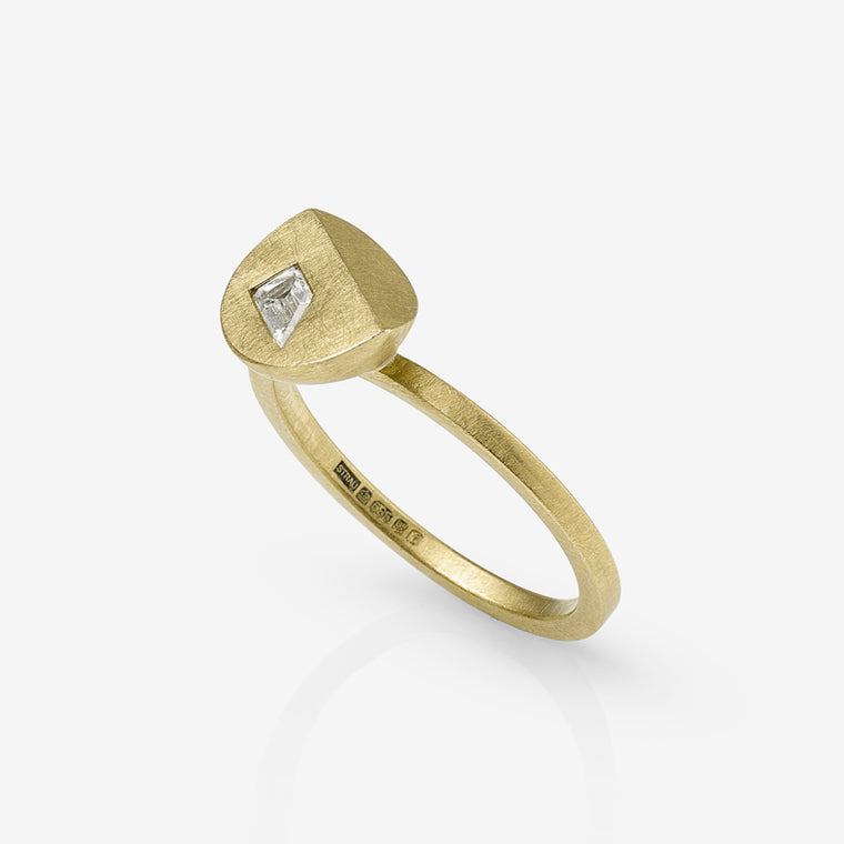Asymmetric Diamond Bella Ring