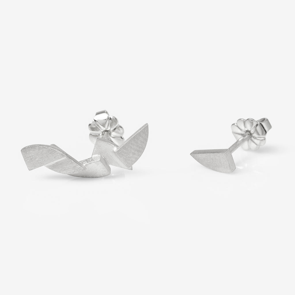 Asymmetric Ciara Arc Earrings