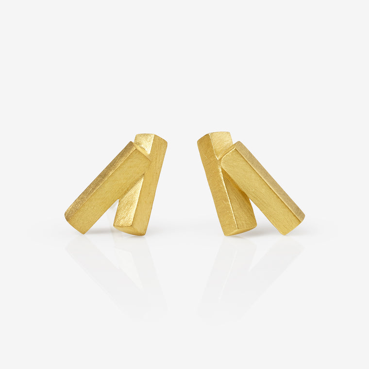 Ivana Earrings (Double)