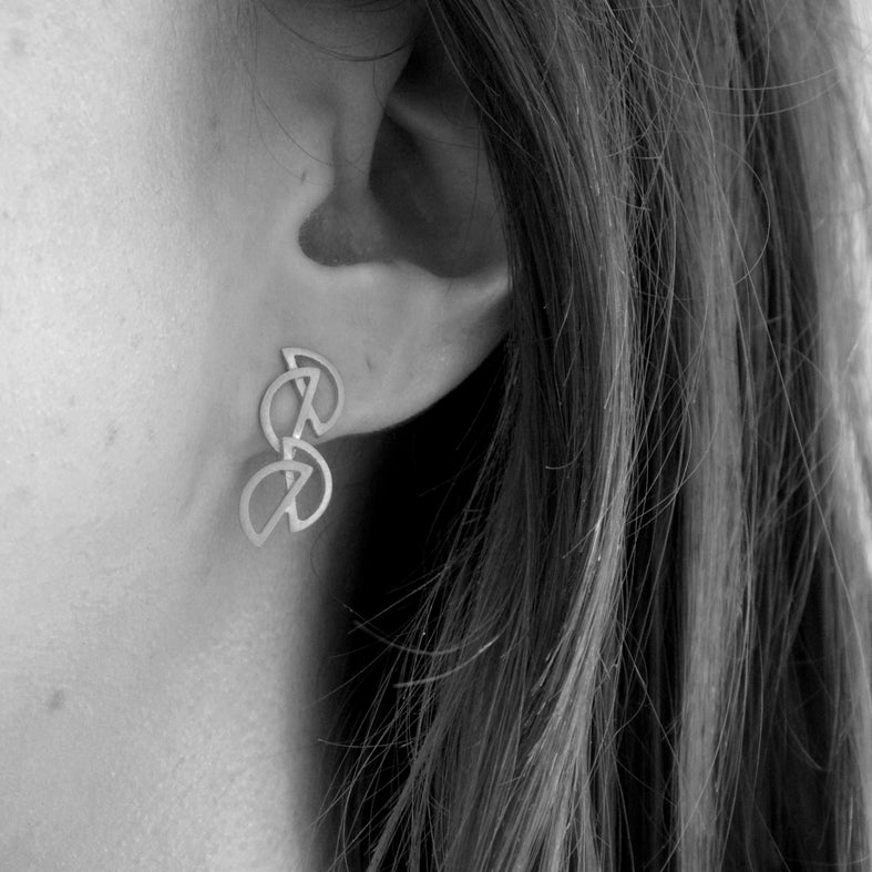 Mini Carla Earrings (Double)