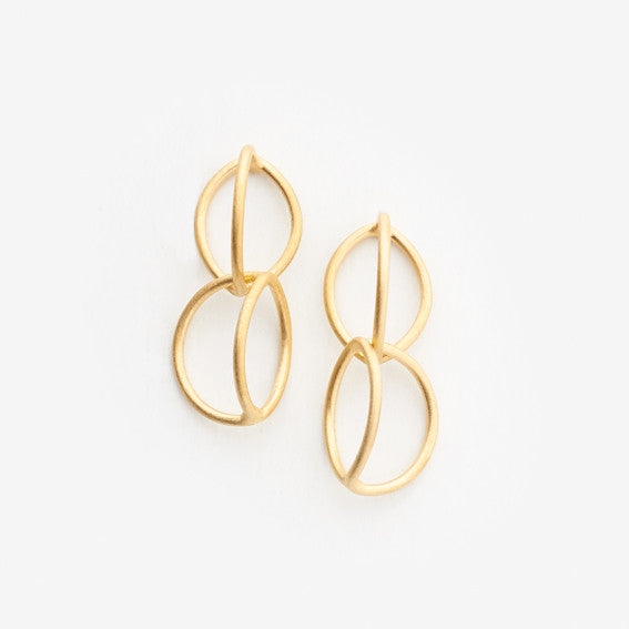 Lily Earrings (Double)