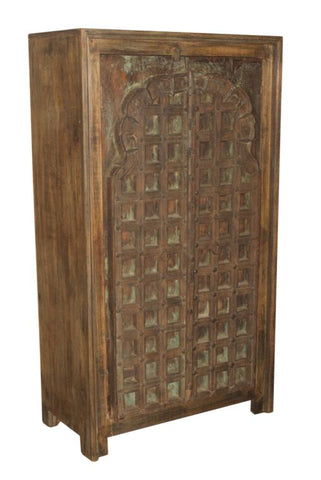 Antique Window Armoire